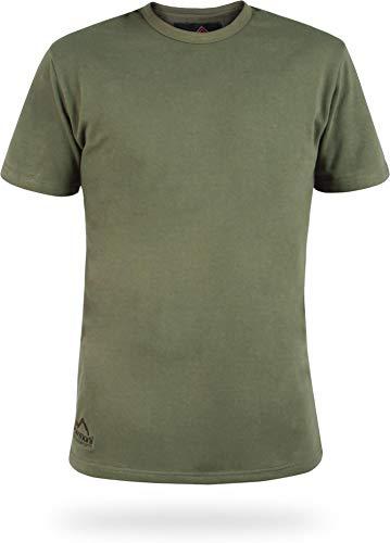 normani Bundeswehr Thermoshirt Unterhemd Kurzarm mit Plüschfutter Farbe Oliv Größe L/7
