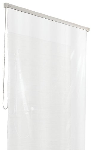 Kleine Wolke 3321109747 Duschrollo für Kleine Wolke-Leerkassette, 128 x 240 cm, weiß
