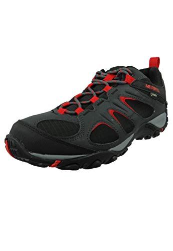 Merrell Herren Yokota 2 Sport Leichtathletik-Schuh, Black/High Risk, 45 EU