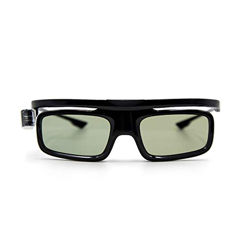 Docooler GL1800 Proyector Gafas 3D Obturador Activo Recargable DLP-Link para Todos los proyectores DLP 3D Optama Acer BenQ ViewSonic Sharp DELL