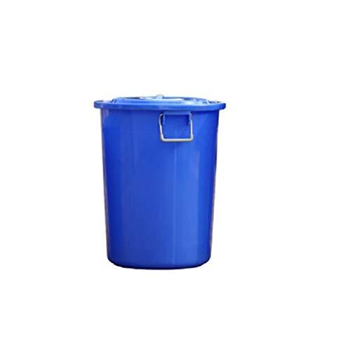 Almacenamiento Al Aire Libre Cubo, Jarro, Basura Grande De Cocina del Hotel Ronda Can Propiedad Industrial Comercial Plástico Cubo De Almacenamiento del Cubo con La Tapa JNCSX (Size : 50L)