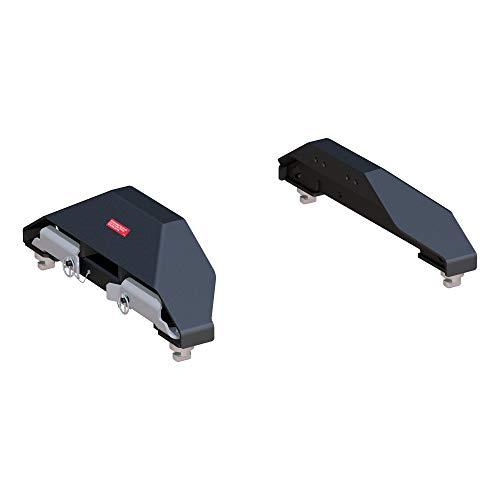 CURT 16025 Replacement Chevrolet Silverado, GMC Sierra 2500, 3500 HD Puck System 5th Wheel Legs, 25,000 lbs, Hitch Head Required