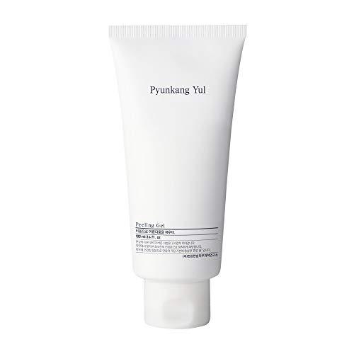 PYUNKANG YUL Facial Peeling Gel - Natural Ingredients Papaya Fruit extract Dead Skin Remover Face Scrub for Sensitive Skin - Hyaluronic, Ceramide, Cica, Tea Tree - Various Vitamins Minerals 3.4 Fl. Oz