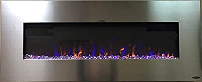 Touchstone AudioFlare Electric Fireplaces (Stainless - 3 Color Flame)