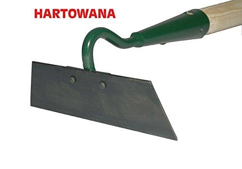 Houe Largeur 16 cm Acier trempé Griffe Râteau avec manche 55 cm Houe à main