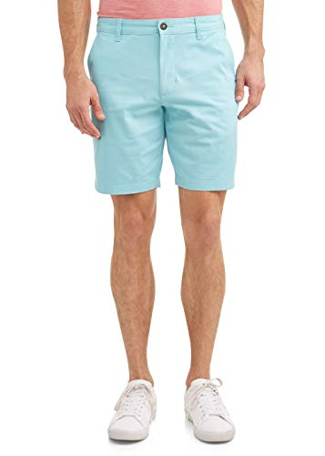 Turquoise Stone Above The Knee Stretch Flat Front Shorts George  via @amazon