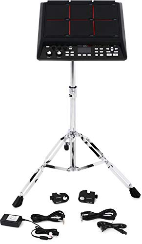 Roland SPD-SXKIT Sampling Kit with SPD-SX Percussion Pad, Stand, Two Drum Triggers, and Trigger Cables