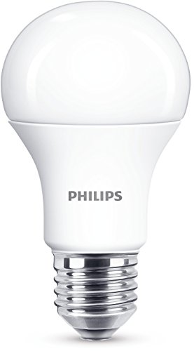 Philips 8718696577059 A+, LED-Leuchtmittel, Plastik, 11 W, E27, matt weiß, 6 x 6 x 11 cm
