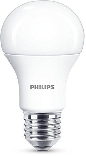 Philips Lighting Lampadina LED Luce Bianca Naturale Calda, E27, 11 W Equivalenti a 75 W, 2700K, Sintetico
