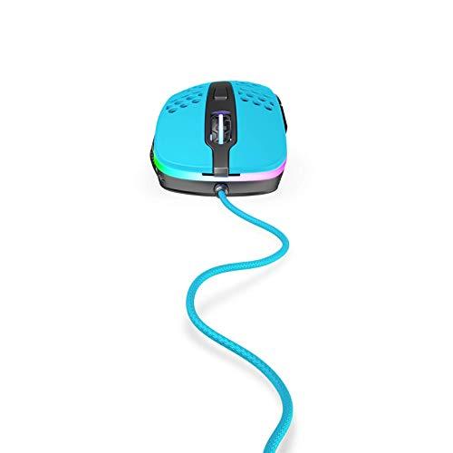 Xtrfy - Mouse M4 RGB Gaming, colore: Azzurro