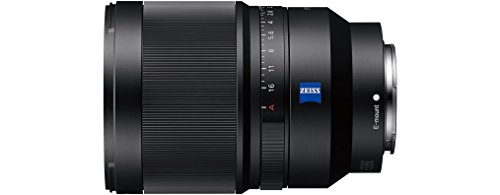 Sony Distagon T FE 35mm f/1.4 Zeiss   Vollformat, Weitwinkel-Objektiv mit Festbrennweite (SEL35F14Z) & NP-FZ100 Akku (InfoLITHIUM-Akku Z-Serie, 7,2V/16,4Wh (2280 mAh)) schwarz