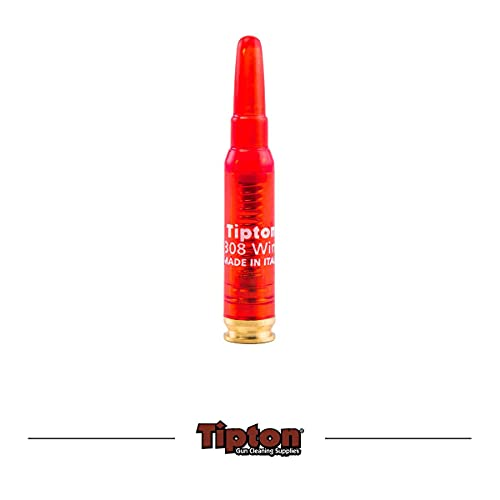 Tipton Rifle Snap Caps .308 Winchester with False Primer and Reusable Construction for Dry-Firing, Practice and Safe Firearm Storage, 2 Pack