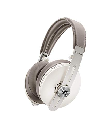 Sennheiser MOMENTUM 3 WIRELESS - Auriculares inalámbricos circumaurales, Color Blanco (Sandy White)