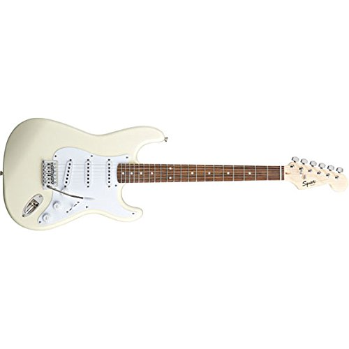 Fender Squier Bullet Stratocaster with Tremolo Electric Guitar, Arctic White