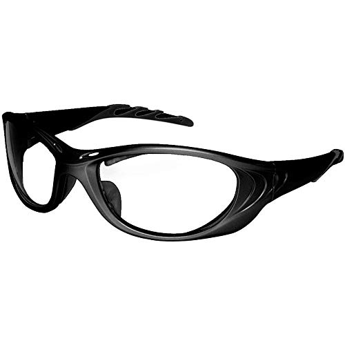 Viper Black 0.75mm Pb Leaded Radiation Safety Glasses | Lead X-Ray Protective Lens