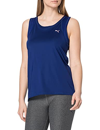 PUMA Train Favorite Tank Camiseta De Tirantes, Mujer, Elektro Blue, M