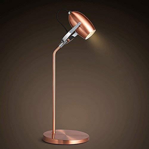 Xiao Fan * Retro decoratieve smeedijzeren tafellamp slaapkamer woonkamer lamp creatieve klassieke ouderwetse lamp lantaarn studie energie-efficiëntie A +