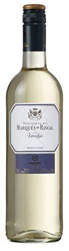 Marqués de Riscal Verdejo - Trockener Weißwein aus der Region Rueda in Spanien (1 x 0,75l)