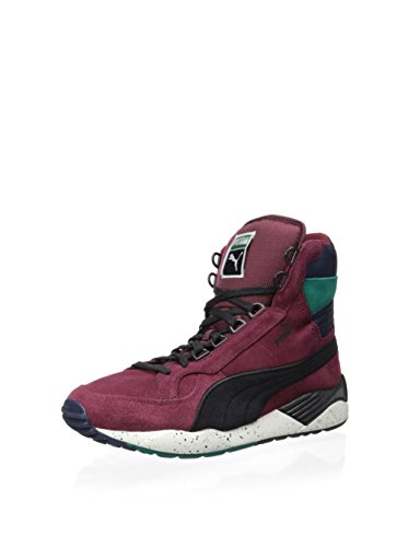 PUMA Mens Trinomic Xs 850 Mid Rugged Lace Up Sneakers Shoes Casual - Red - Size 9 D