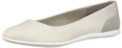 Aerosoles A2 Women's Pay Raise Ballet Flat, Light Grey Combo, 5.5 M US