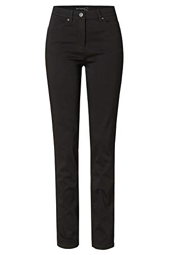 TONI Damen 5-Pocket-Hose »be Loved« aus weicher, satinierter Baumwolle 42 schwarz