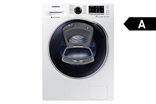 Samsung WD5500 WD81K5A00OW/EG AddWash Waschtrockner/a/17600 kWh/Jahr/1400 UpM/8 kg/9600 L/jahr/SchaumAktiv/AirWash