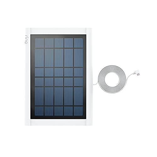 Ti presentiamo il Pannello solare Ring per Ring Video Doorbell (2ª generazione) di Amazon   Bianco