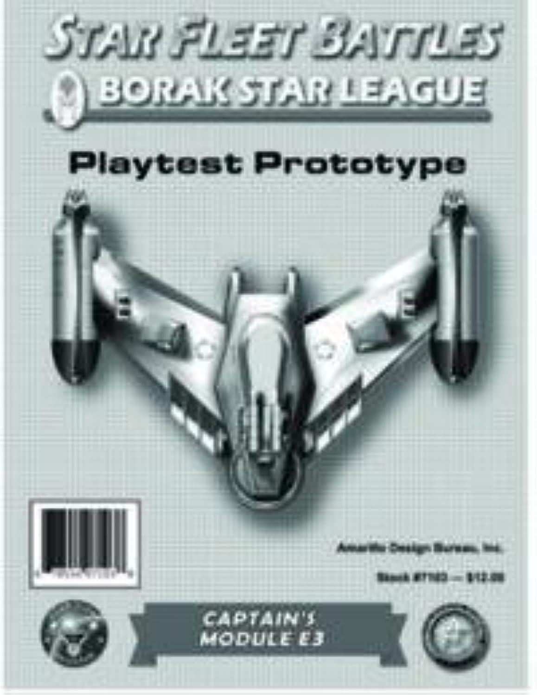 60% de descuento Estrella Fleet Battles E3 Module 'Borak Estrella League' League' League' by Estrella Fleet Battles ADB  Venta barata