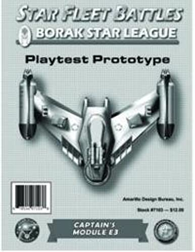 en venta en línea Star Fleet Battles E3 Module 'Borak Star League' by by by Star Fleet Battles ADB  salida de fábrica