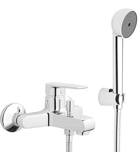 Mamoli Logos rubinetto miscelatore vasca con accessori