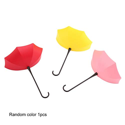 ghfcffdghrdshdfh New Colorful Umbrella Wall Hook Key Coin Hair Pin Holder Organizer Decor