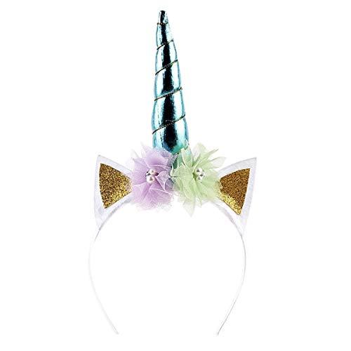 Diadema - cabello - unicornio - accesorios - disfraz - carnaval - halloween - cosplay de excelente calidad - adultos y nios - modelo 1 cosplay