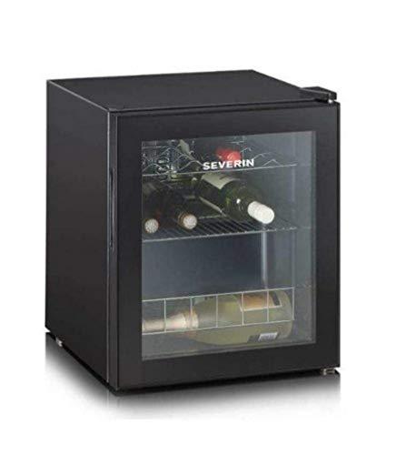 Severin KS 9889 Vinoteca, 46 L, Negro, 128 W [Clase de eficiencia energética G]