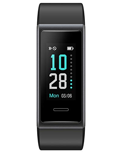 Purchase Willful Fitness Tracker 2020 Version, Heart Rate Monitor Fitness Watch IP68 Waterproof Pedo...