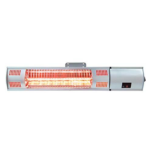 ART TO REAL calentador eléctrico de patio con control remoto, calentador de...