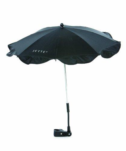 JETTE JET13-780-00001 Sonnenschirm mit UV-Schutz, schwarz