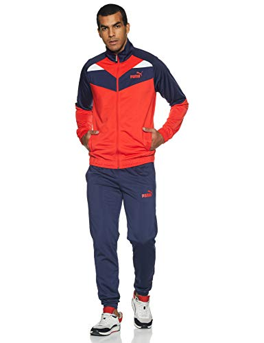 Puma Men's Sport Jacket (85155911_High Risk Red_S)