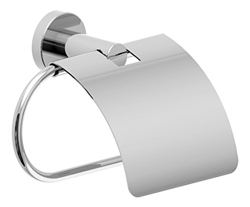 Top 10 best selling list for chrome toilet paper holder with cover