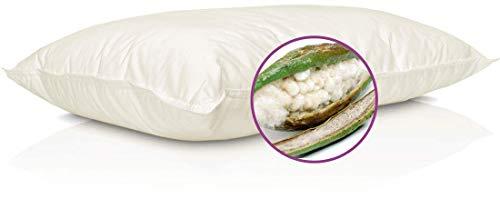 Pillux Cuscino Guanciale in Kapok (Fibra 100% Vegetale Anallergica)