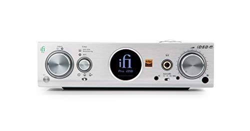 iFi Pro iDSD Netzwerk-Spieler/USB-D/A-Wandler mit Kopfhörerverstärker 32Bit/768kHz DSD 1024 (2.5mm)