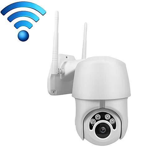 Telecamera a Pannello Solare IP66 1080P IP Camera Impermeabile CCR 1080P Wi-Fi, di Sostegno TF/infrarossi di Visione Notturna/Movimento Detection Telecamera IP 1080P con Batteria e Pannello Solare
