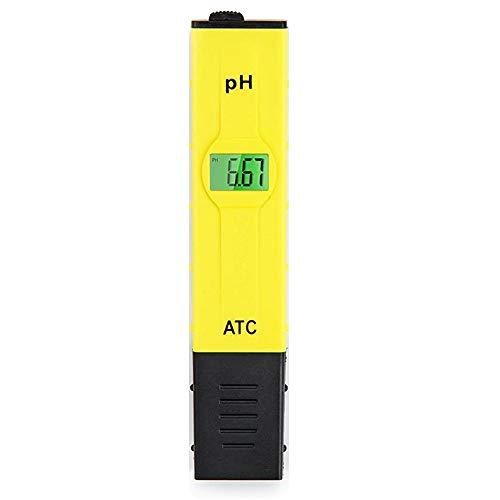 Digitales PH-Messgerät Wasser-ATC-Tester 0-14 PH-Messbereich Für Trinkwasser Im Haushalt, Pool, Hydroponik, Aquariumwasser, PH-Tester-Design Mit ATC