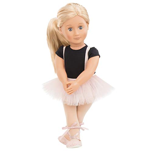 Our Generation Doll by Battat- Violet Anna 18' Regular Ballerina Fashion Doll- for Age 3 & Up