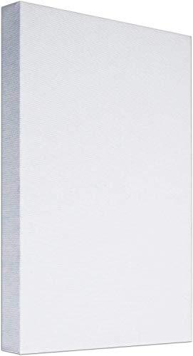 Lienzo Grande en Blanco para Pintar 90 x 120 x 3.4 cm, 100% algodón. Válido para todo tipo de pinturas: acrílica, óleo, acuarela. Indicado para amantes de la pintura y profesionales.