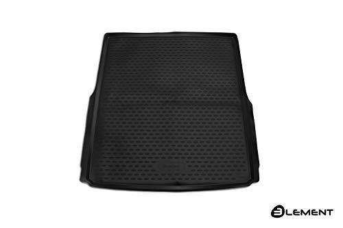 Element EXP.ELEMENT5155B12 Passgenaue Premium Antirutsch Laderaumwanne Kofferraumwanne VW Passat B8 Variant 2014-> Kombi, Schwarz, Passform