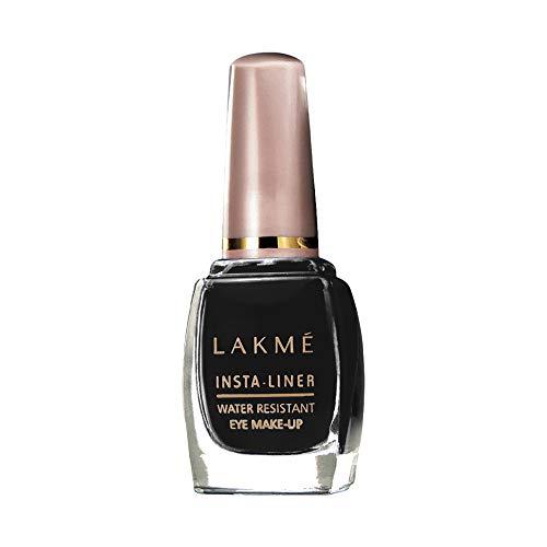 Lakme Insta Eye Liner, Black, Water Resistant, Long-Lasting, 9 ml