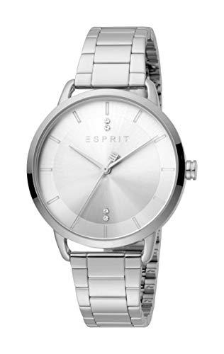 Esprit ES1L215M0065 Macy Silver Uhr Damen-Uhr Edelstahl Silber