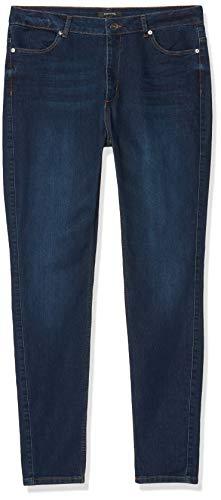 comma Damen 85.899.72.0786 Slim Jeans, Blau (58z7 Denim Stretch 58z7), W29 (Herstellergröße: 38)