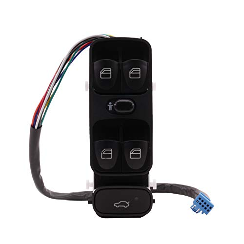 Fensterheber schalter Vorne Links für C-Klasse W203 C230 C240 C280 C320 C350 C32 00-07 Fahrerseite Schaltelement A2038210679 RICH CAR