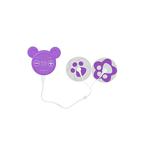 Careboo Menstrual Pain Relief Massager, Zero Side-Effect for Menstrual Pain with Gel Pads, Menstrual Nursing Instrument, Purple